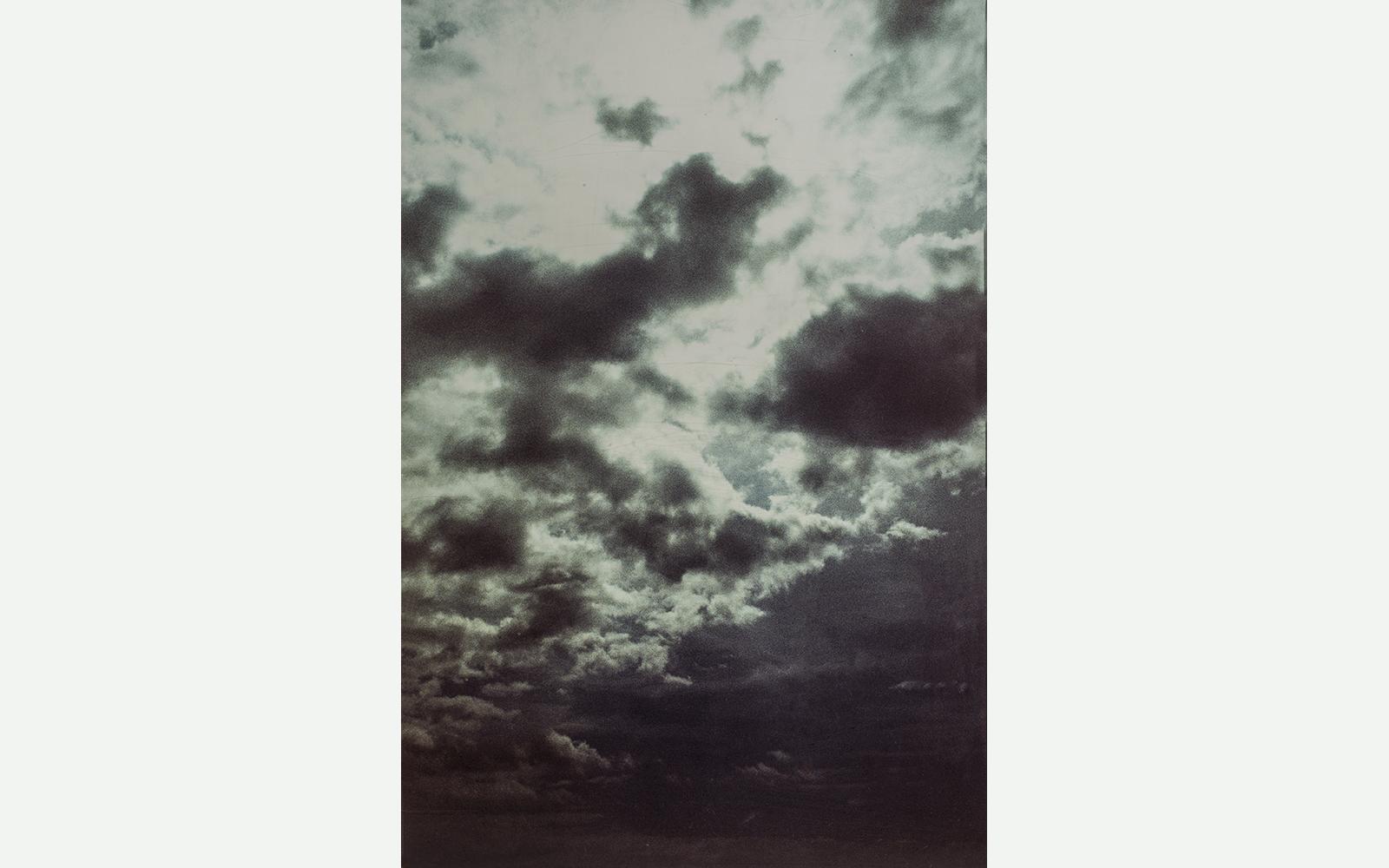 Jes Wind Andersen  Uden titel - Himlen over  Firenze, 2001 Fotografi. 180×132 cm.