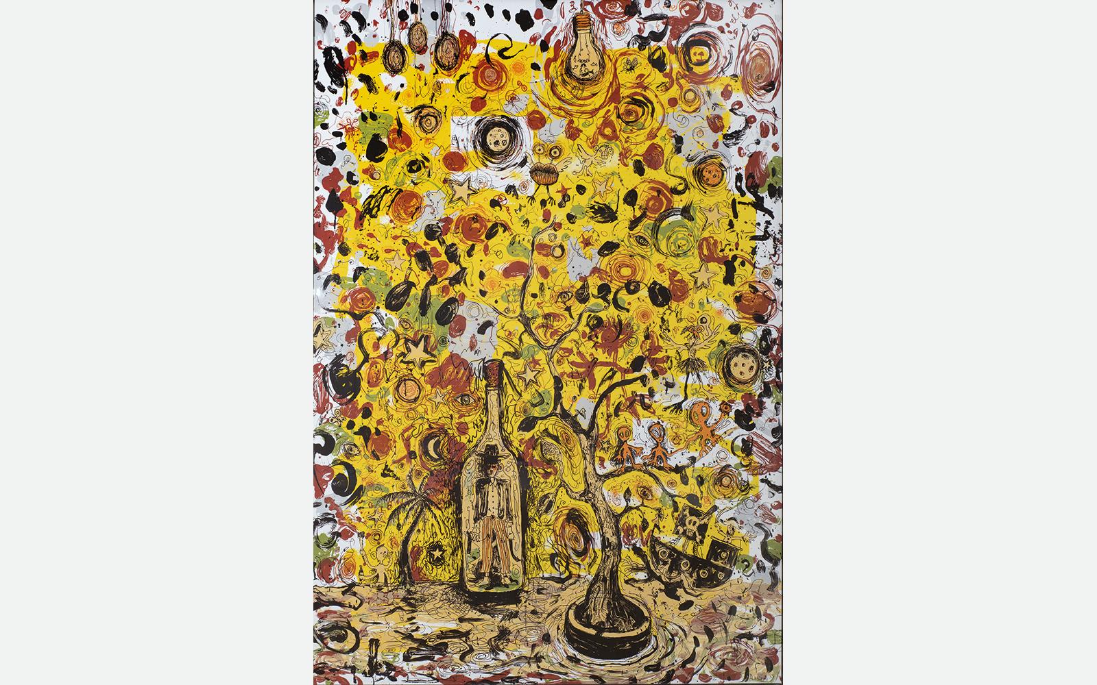 Anders Brinch Untitled, 2013  Silketryk, ed. 18.  140×100 cm.